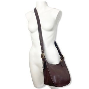 Coach Janice Crossbody Saddle Bag Vintage Brown